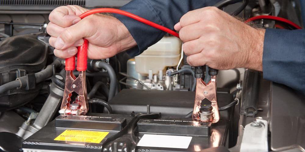 bateria do carro manutenção